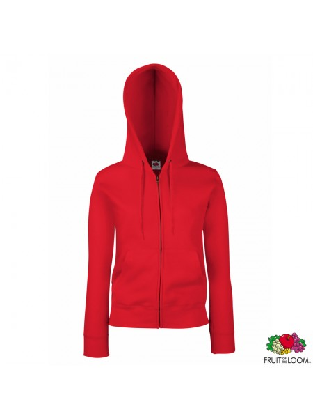 Толстовка Lady-Fit Premium Sweat Jacket (Fruit of the Loom)