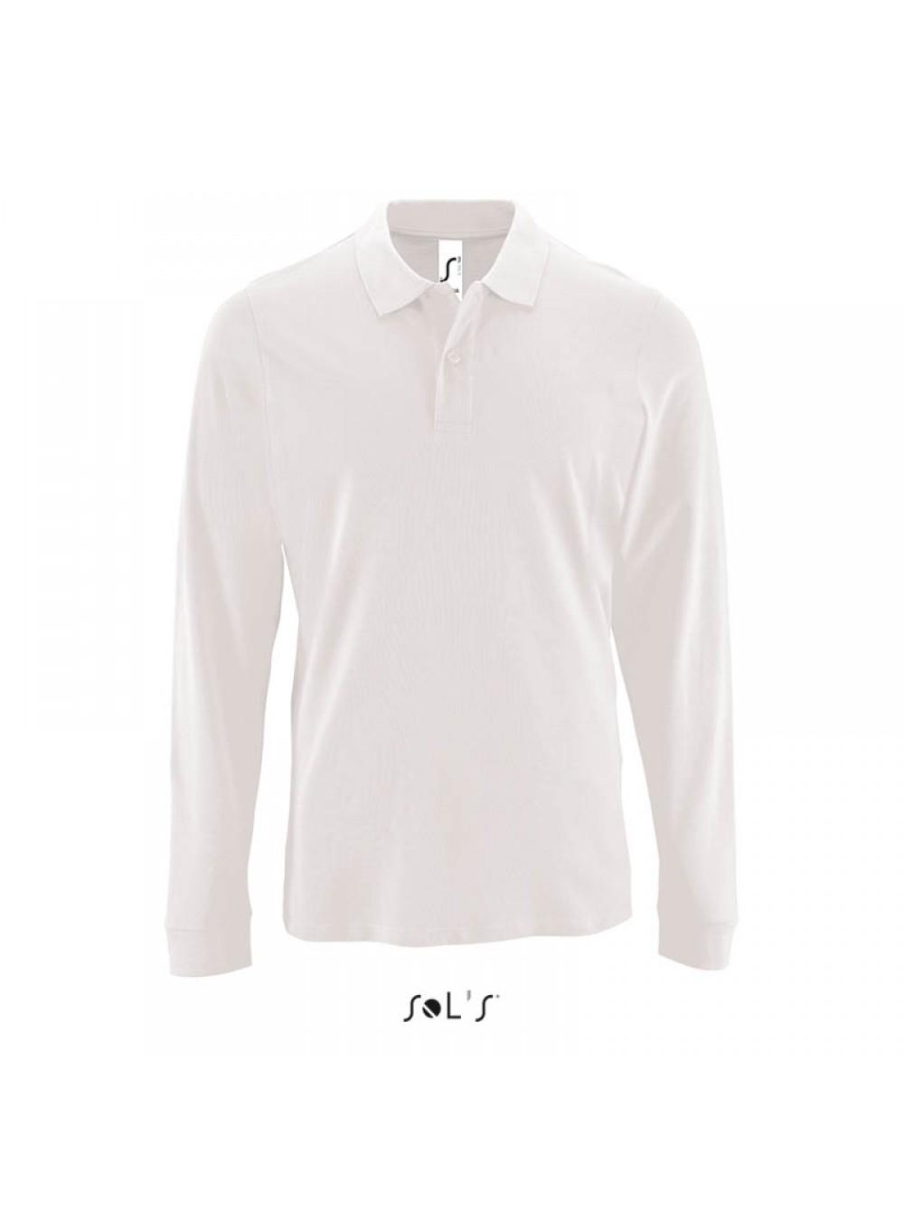 2eee831db4e5b Мужская рубашка поло с длинным рукавом PERFECT LSL MEN. Артикул 02087