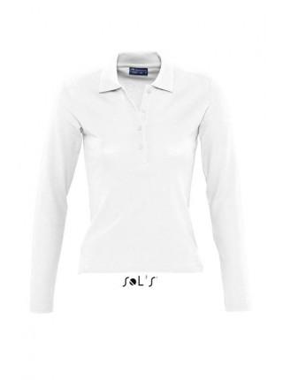 Рубашка поло с длинным рукавом SOLS PODIUM