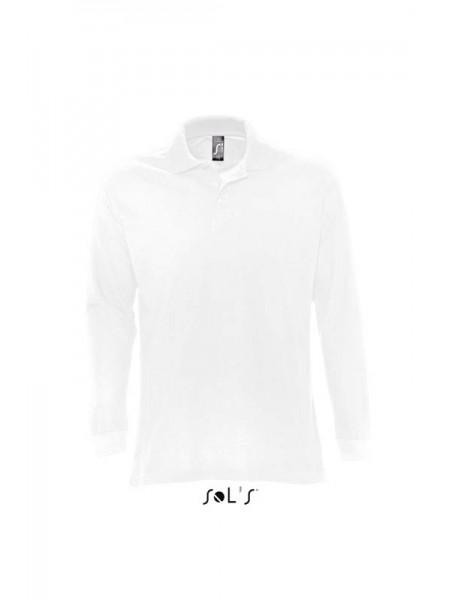Рубашка поло с длинным рукавом SOLS STAR