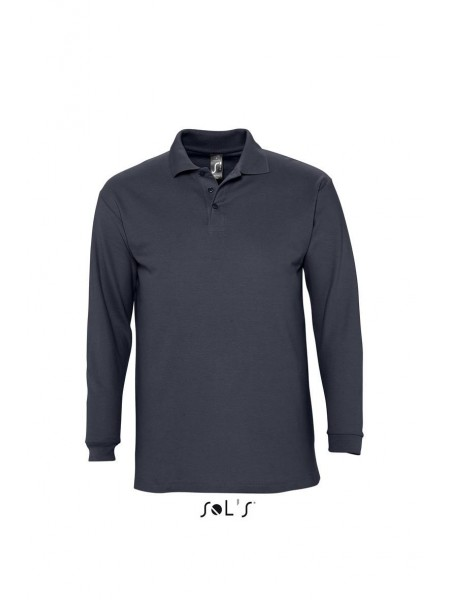 Рубашка поло с длинным рукавом SOLS WINTER II